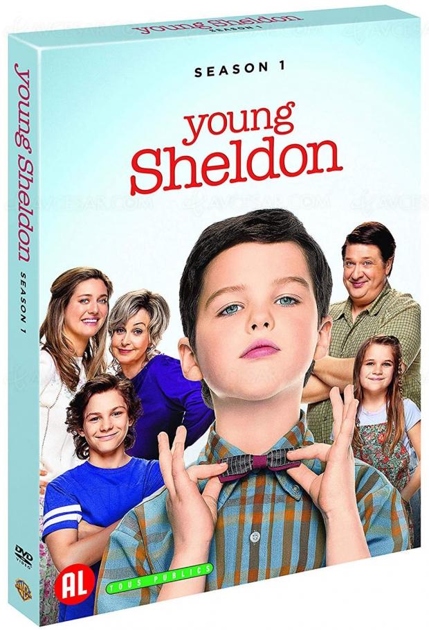 Young Sheldon saison 1 le 21 août (seulement) en DVD