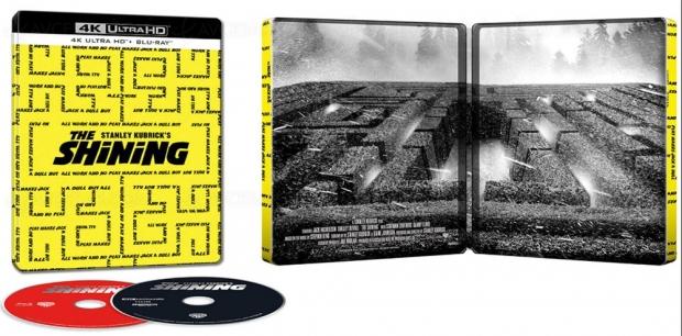 Shining version longue inédite 4K Ultra HD, joli visuel labyrinthique anglais