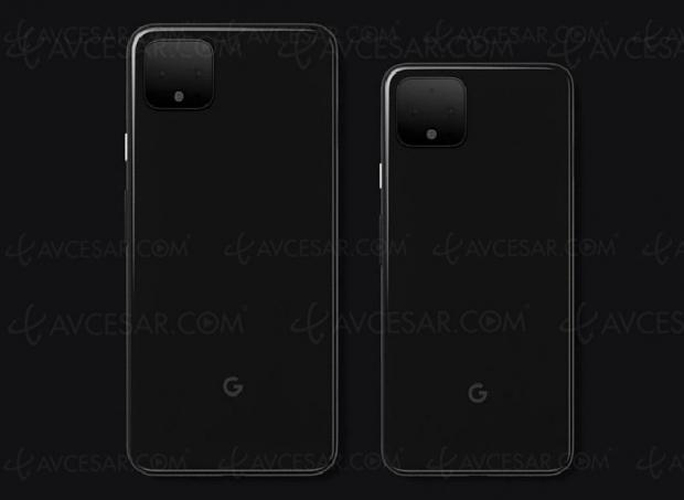 Smartphones Pixel 4 et Pixel 4 XL, Google entérine le design via un tweet