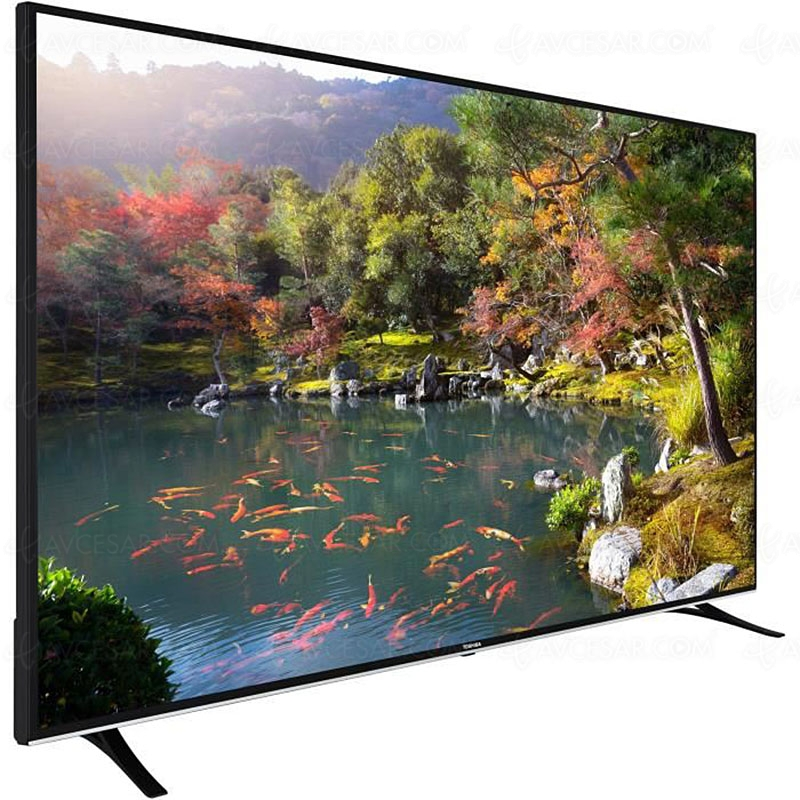 bon plan cdiscount tv ultra hd 4k led 75 toshiba. Black Bedroom Furniture Sets. Home Design Ideas