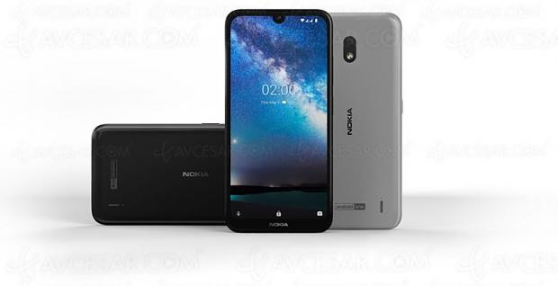 Smartphone Nokia 2.2, performances et module IA à -100 €