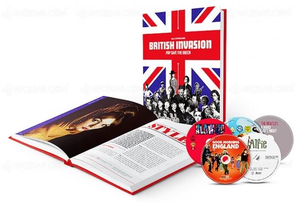 Un coffret pour redécouvrir la British Invasion en cinq films et un livre