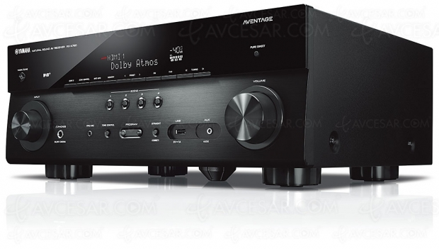 Yamaha RX‑A780, ampli 7.2 HDR Dolby Vision, HDMI 2.0b/HDCP 2.2, BT.2020, DLNA, MusicCast Surround, Bluetooth, AirPlay 2, Dolby Atmos, DTS:X…