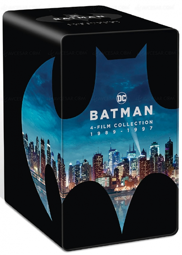 Coffret Batman 1989-1997, un 80e anniversaire en 4K Ultra HD