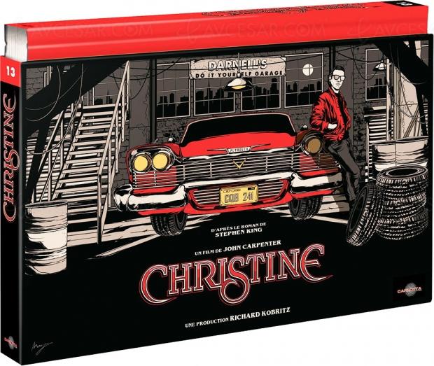Christine coffret Ultra Collector 4K Ultra HD, le visuel dévoilé