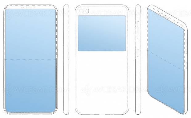 Brevet Samsung : smartphone à deux écrans recto‑verso