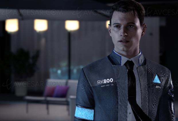 Les androïdes PlayStation de Detroit : Become Human au musée Grévin