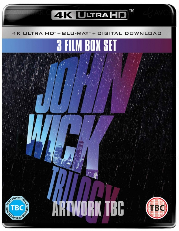 Trilogie John Wick 4K Ultra HD, Keanu Reeves sur tous les fronts