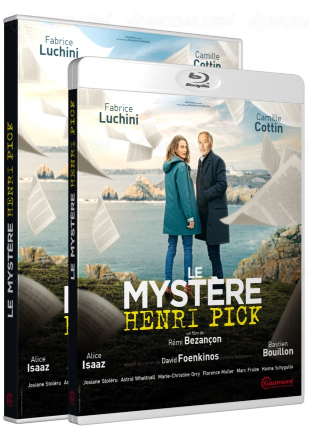 Fabrice Luchini et Camille Cottin tentent d'élucider « le mystère Henri Pick »