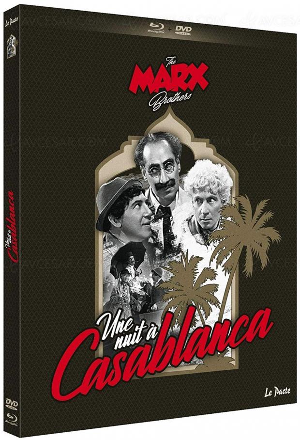 Une nuit à Casablanca : le classique des Marx Brothers pour la première fois en Blu-Ray
