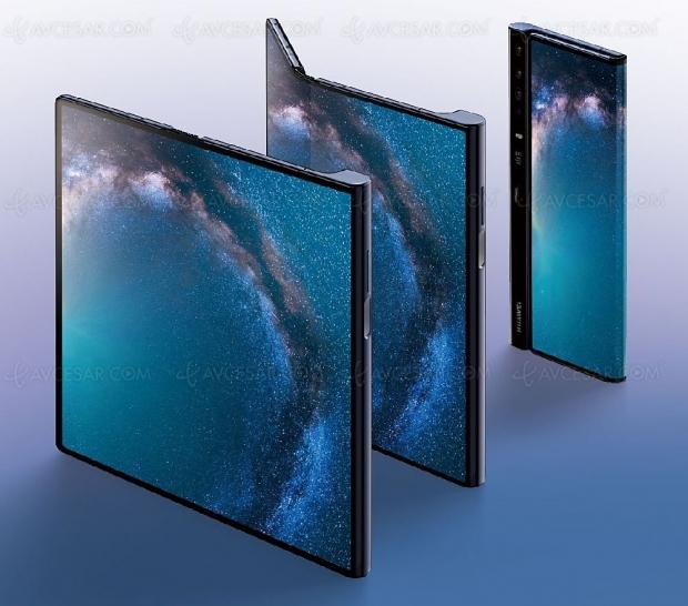 Smartphone pliable Huawei Mate X, sortie en septembre au plus tard