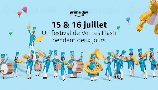 Soldes Amazon Prime Days les 15 et 16 juillet