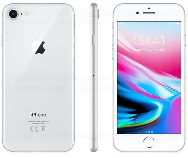 🔥 Soldes été CDiscount, iPhone 8 64 Go argent à 499 €, soit 27% de remise