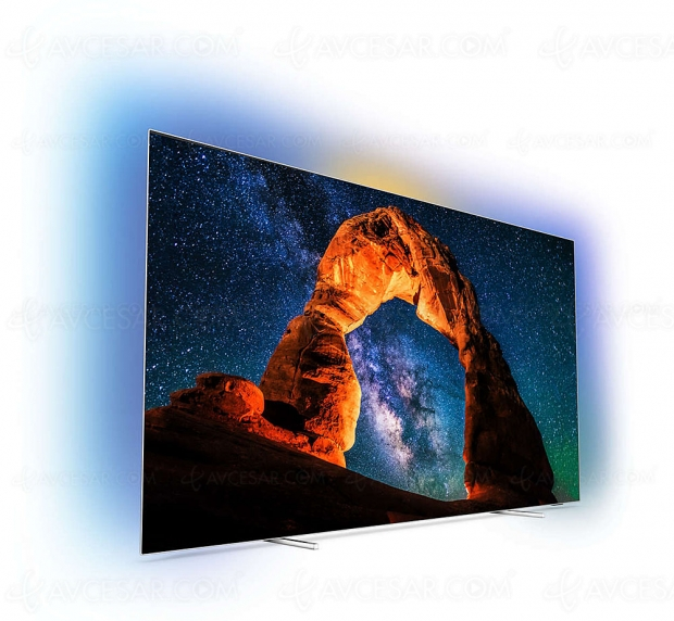 Soldes été Darty.com, TV Oled Ultra HD/4K Philips 55OLED803 à -1 299 €