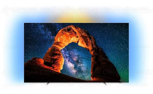 Soldes été Fnac.com, TV Oled Ultra HD/4K Philips 65OLED803 à 1 999 € soit -500 €