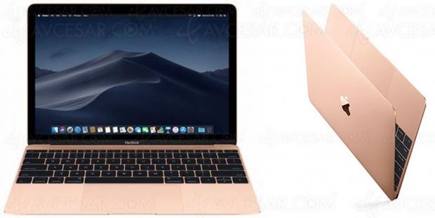 Soldes été, Apple MacBook 12'' 256 Go SSD, 8 Go Ram, à 899,99 €, soit une remise de 600 € ou 40%