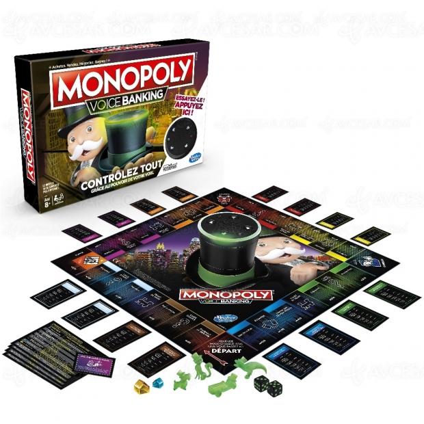 Monopoly Voice Banking : premier jeu de société à commande vocale