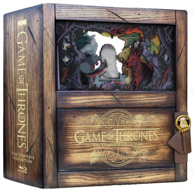 Game of Thrones saison 8 en 4K Ultra le 3 décembre prochain + coffret intégral Blu-Ray en bois
