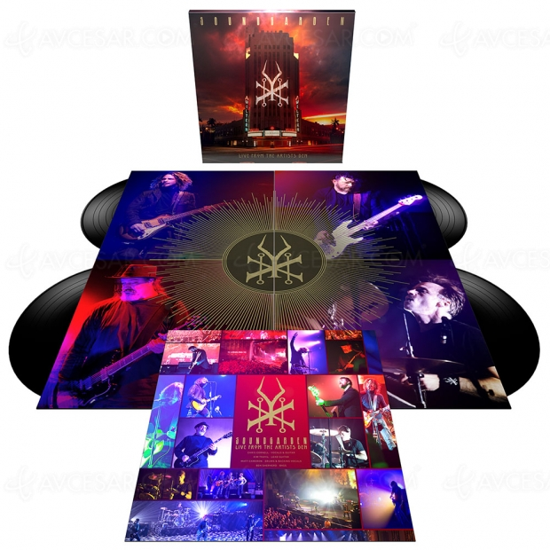 Un nouveau live de Soundgarden bientôt disponible en Blu‑Ray