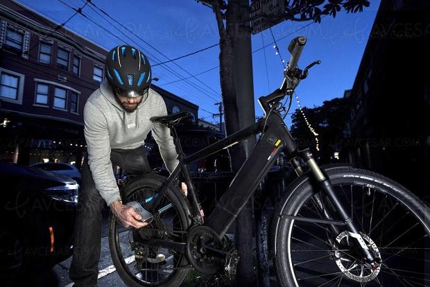 Antivol connecté Abus 770A SmartX pour vélo