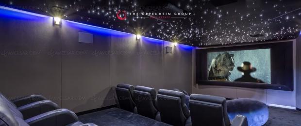 Maison à vendre avec sublime vue sur Hollywood et Home Cinéma grand luxe