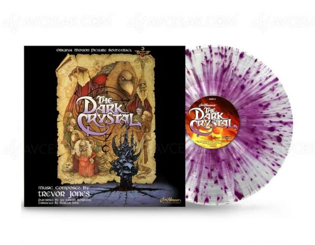 Un vinyle coloré pour la réédition de l'OST de The Dark Crystal