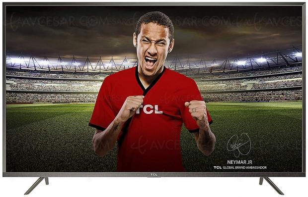 Soldes été 2019 CDiscount, TV LED Ultra HD TCL U60V6026 à 399,99 €, prix fracassé !