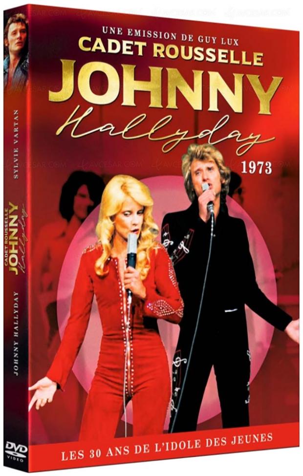Quand Johnny Hallyday avait 30 ans : réédition DVD d'une émission de 1973