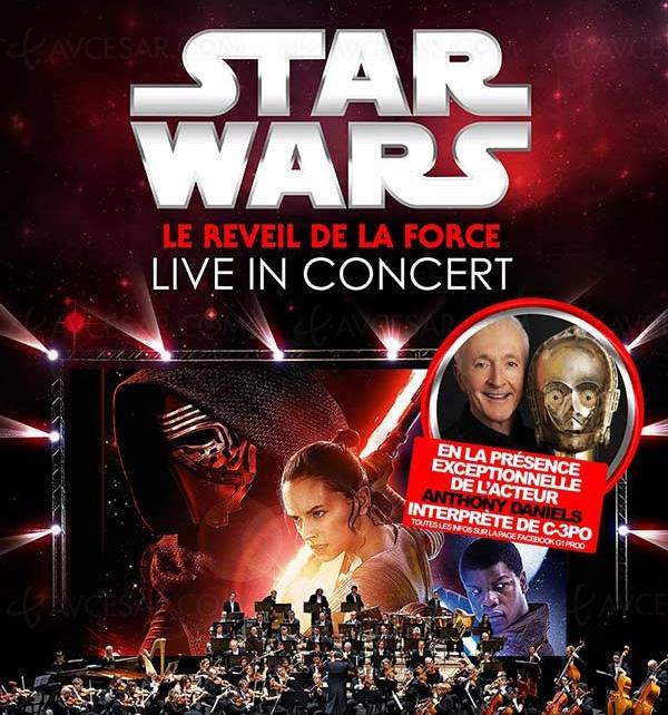 Ciné Concert Star Wars & Disney, réduction pour les moins de 18 ans