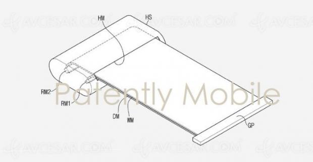 Smartphone à écran enroulable Sony commercialisé dès cette année ?