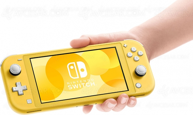Nintendo Switch Lite, elle a (presque) tout d'une grande Switch