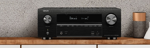 Denon AVR-X3600H, amplificateur 9.2 Bluetooth, HDMI 2.0b, Heos, eARC, Upscaling Ultra HD, HDR10, Imax Enhanced…