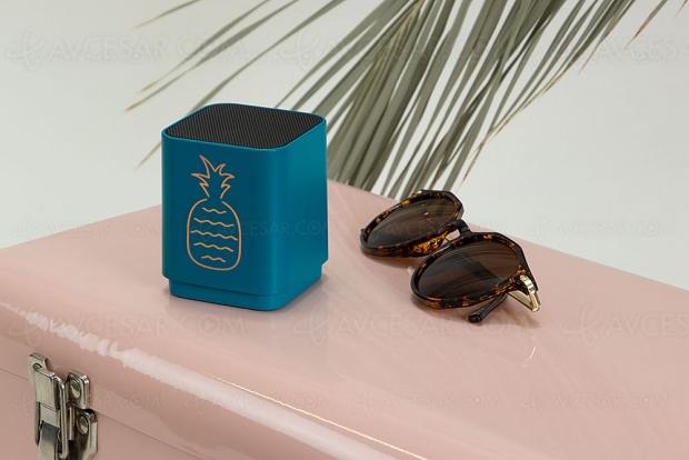 Mini-enceintes lumineuses Bluetooth Bigben BT19