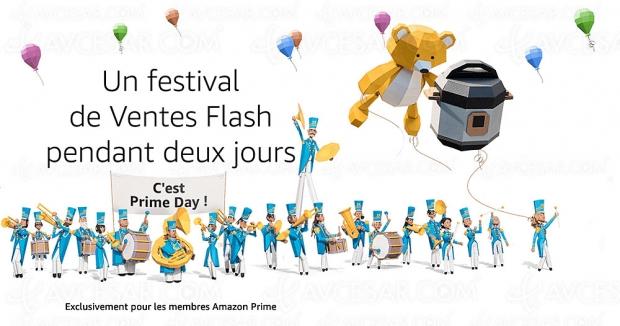 Amazon Prime Day 2019, 5 596 offres jusqu'à 70% de remise