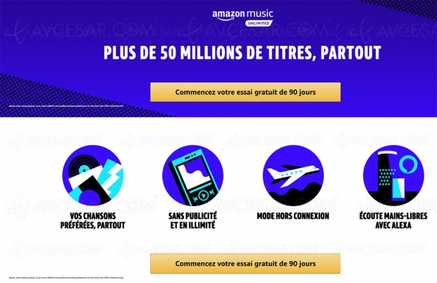 Amazon Prime Day 2019, Amazon Music à 0,99 € pendant 4 mois !
