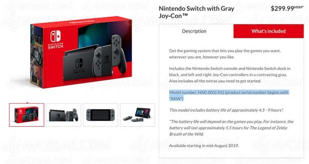 Nouvelle Nintendo Switch annoncée pour la rentrée…