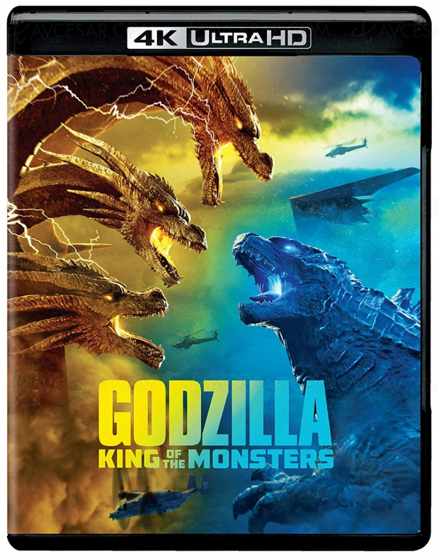 Godzilla 2 roi des monstres 4K Ultra HD, HDR Dolby Vision ET HDR10+ !