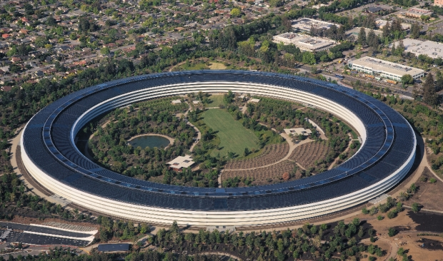 Apple Park, estimé à plus de 4 milliards de dollars