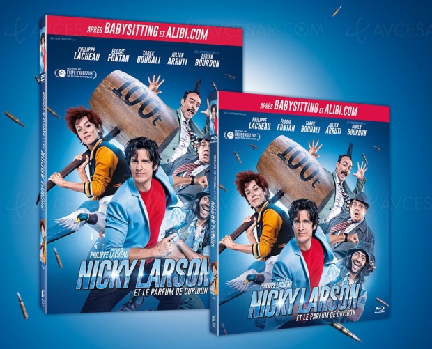 Nicky Larson ne craint personne en Blu-Ray, DVD et VOD
