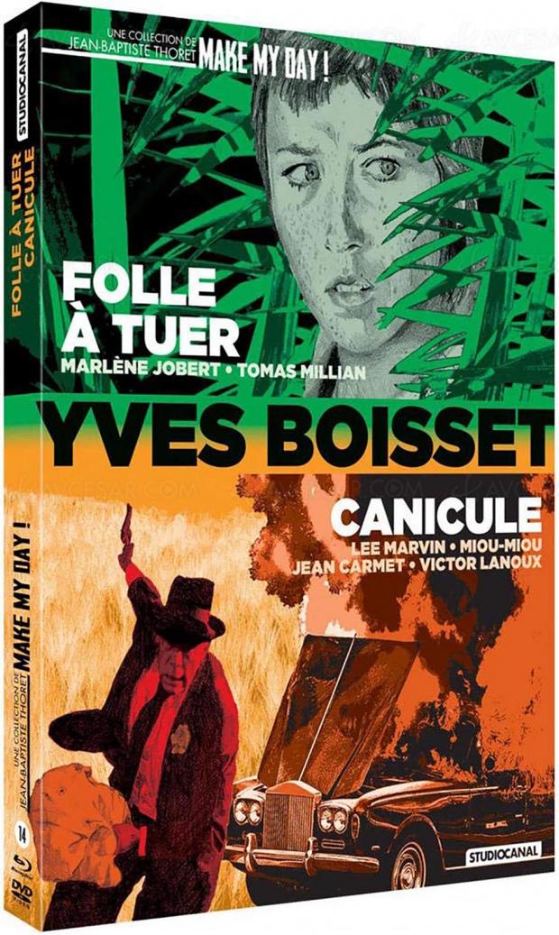 Canicule et Folle à tuer : deux titres inédits d'Yves Boisset dans la collection Make my Day (Studiocanal) de Jean-Baptiste Thoret