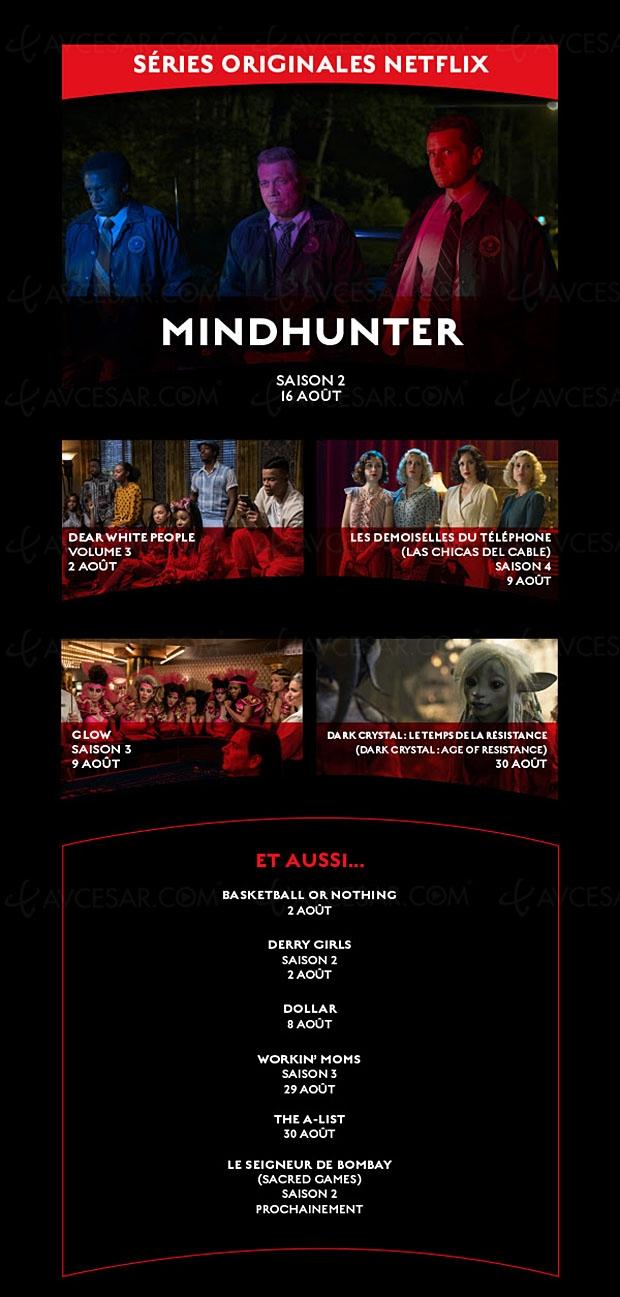 Quoi de neuf sur Netflix en août ? Découvrez tous les