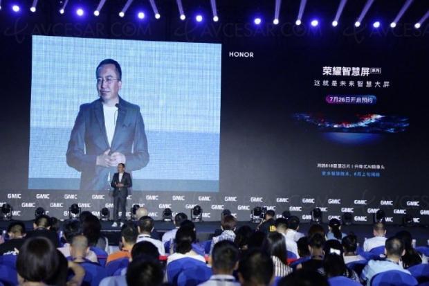 Honor Smart TV : processeur Honghu 818 et capteur photo télescopique, présentation le 10 août
