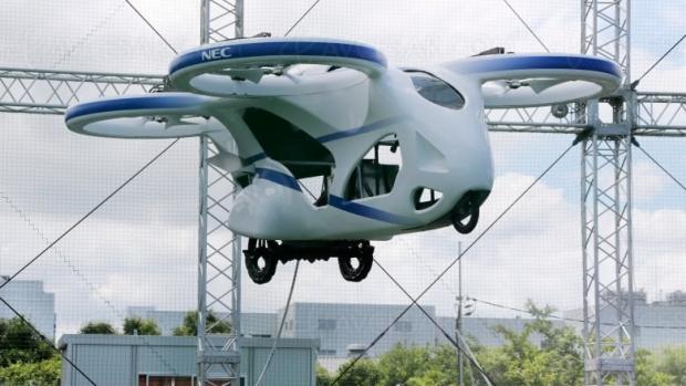 Voiture volante testée au Japon, lancement en 2023 ?