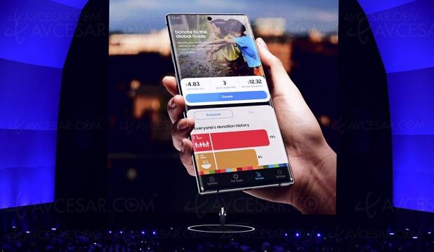 Samsung Galaxy Note10, énorme écran de 6,3'' et 256 Go de stockage