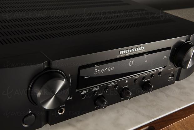 Marantz NR1200, ampli stéréo, Alexa, Google Assistant, Siri, multiroom Heos, DAB+, HDR10, HDR HLG…