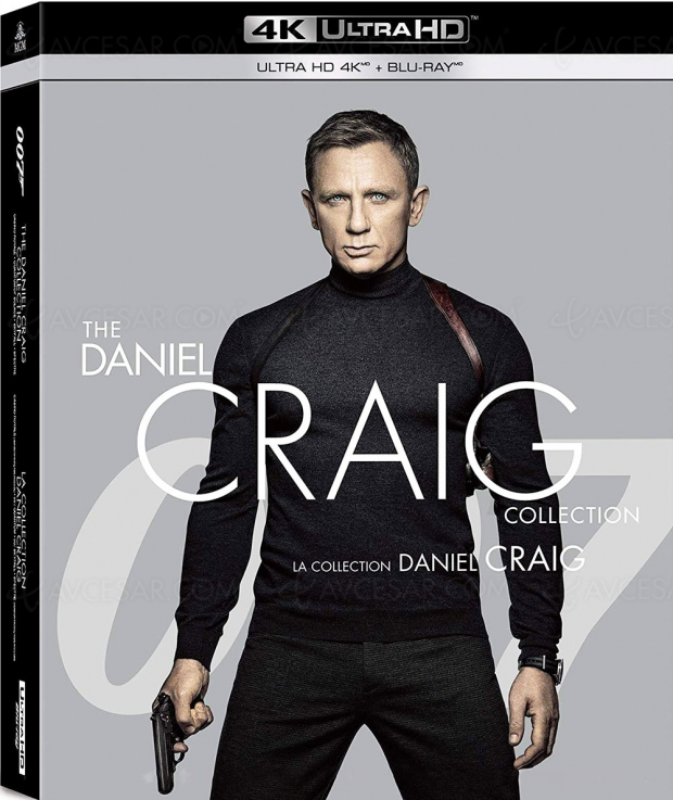 Coffret The Daniel Craig Collection 4K Ultra HD, plus tôt que prévu ?