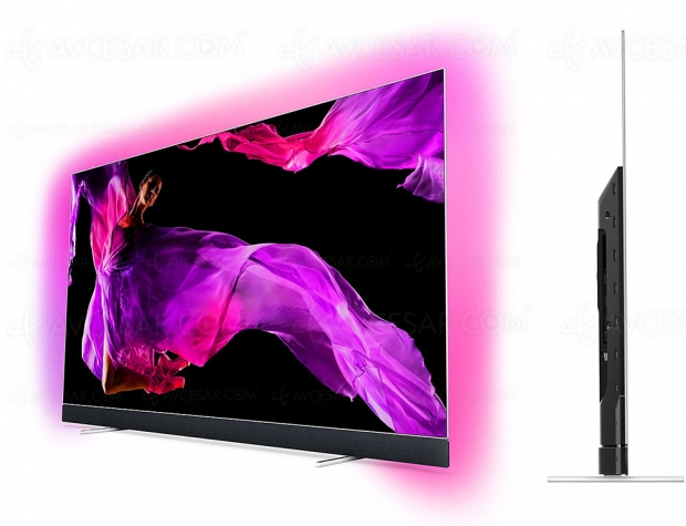 Test TV Oled Ultra HD Philips 65OLED903, en ligne