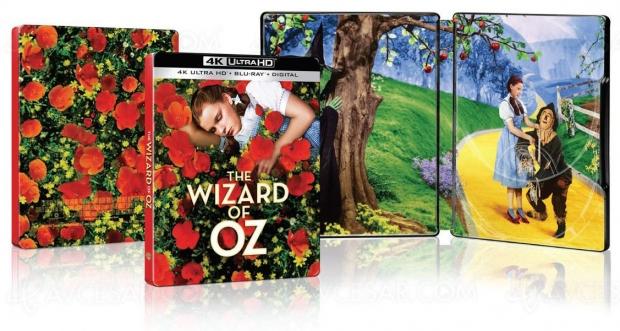 Le magicien d'Oz 4K Ultra HD 80e anniversaire, le très beau visuel