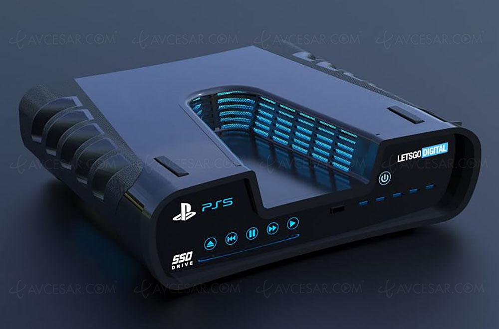 PlayStation 5, rendus 3D de la console ? Du kit de développement ?