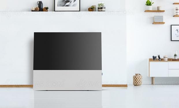 Pied/barre de son Hi-Fi Canvas pour TV Oled LG séries B et C